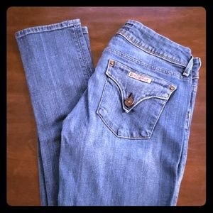 Hudson Light Blue Skinny Jeans